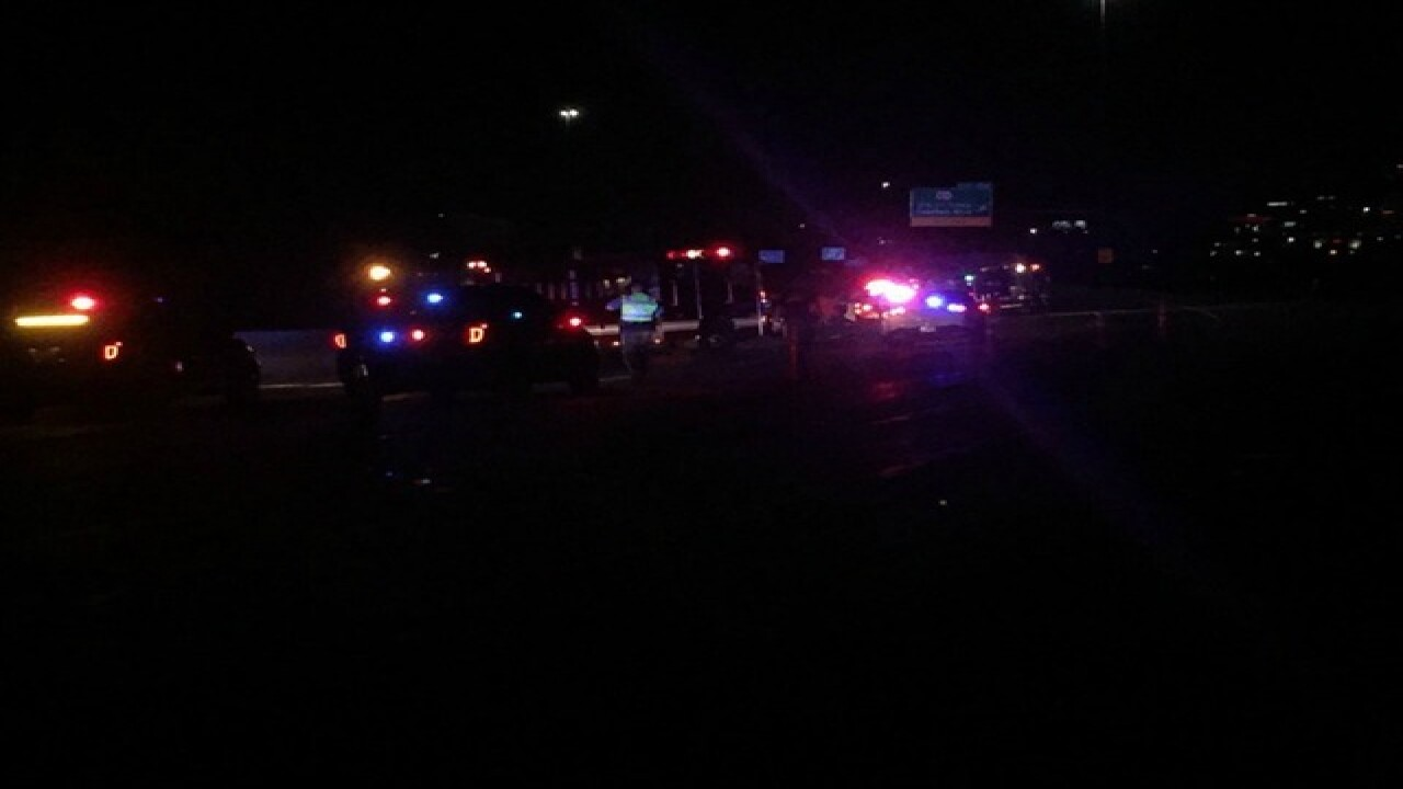 Fatal crash reported on I-35 NB in KCK