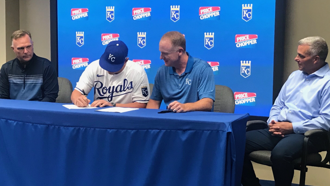 Kale Emshoff signs free agent deal with Kansas City Royals