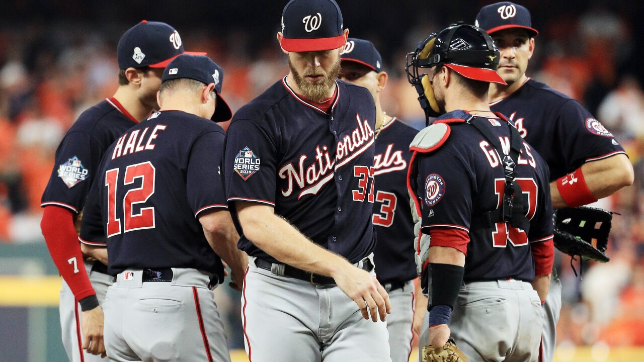 World Series: Nationals force Game 7, beat Houston7-2