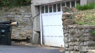 Wess Park Drive landslide damage