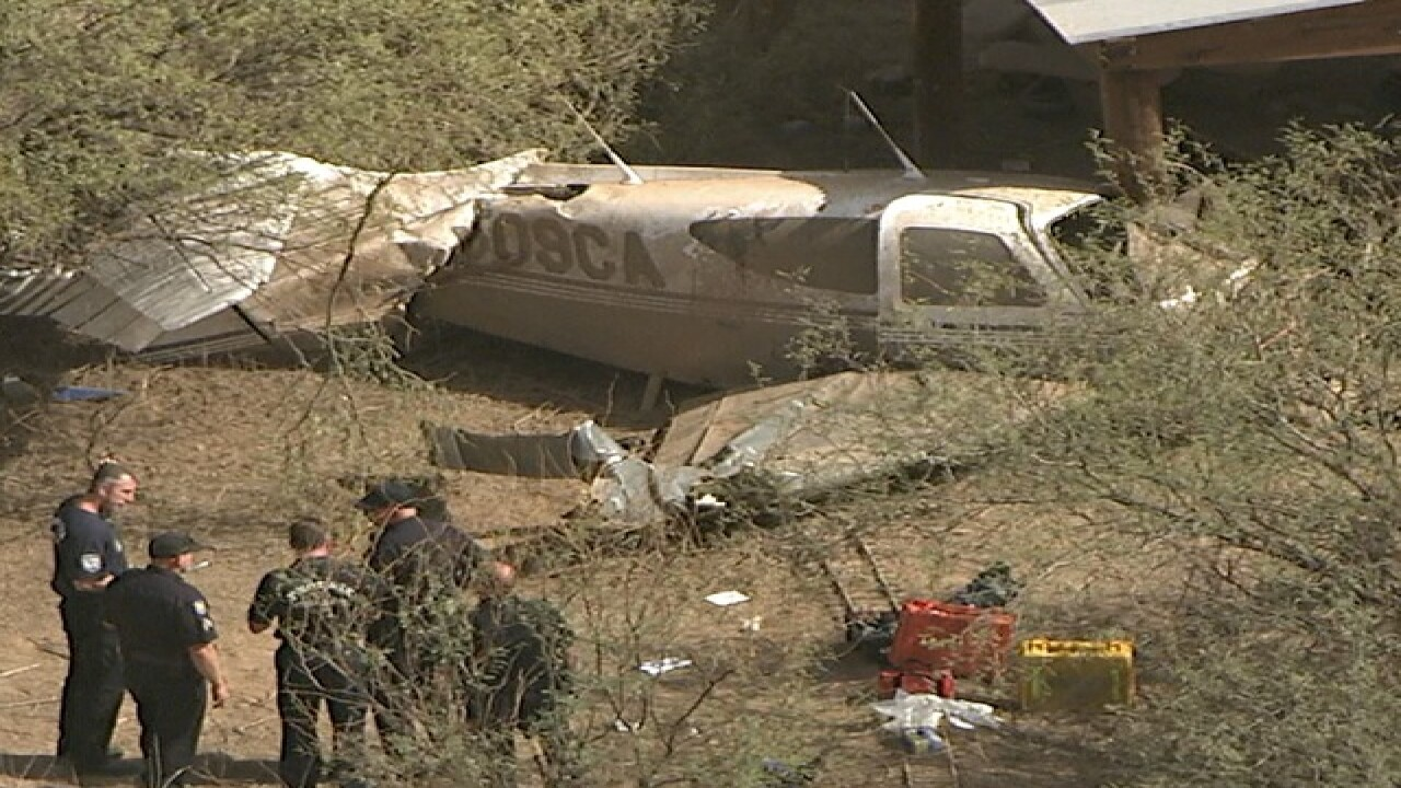 PD: Plane crash reported in North Phoenix