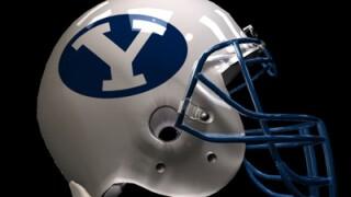File photo: BYU football helmet