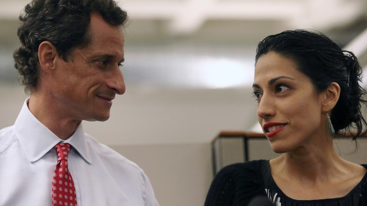 Emails found on Anthony Weiner's laptop posted by State Department