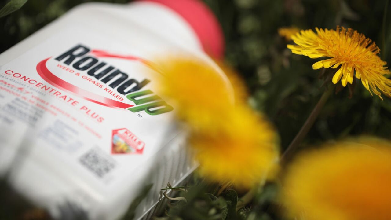 A Michigan man was surprised when he got cancer. He blames Roundup — a weed killer he used for decades