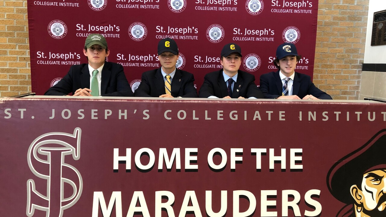 Four St. Joe's lacrosse players sign letters of intent