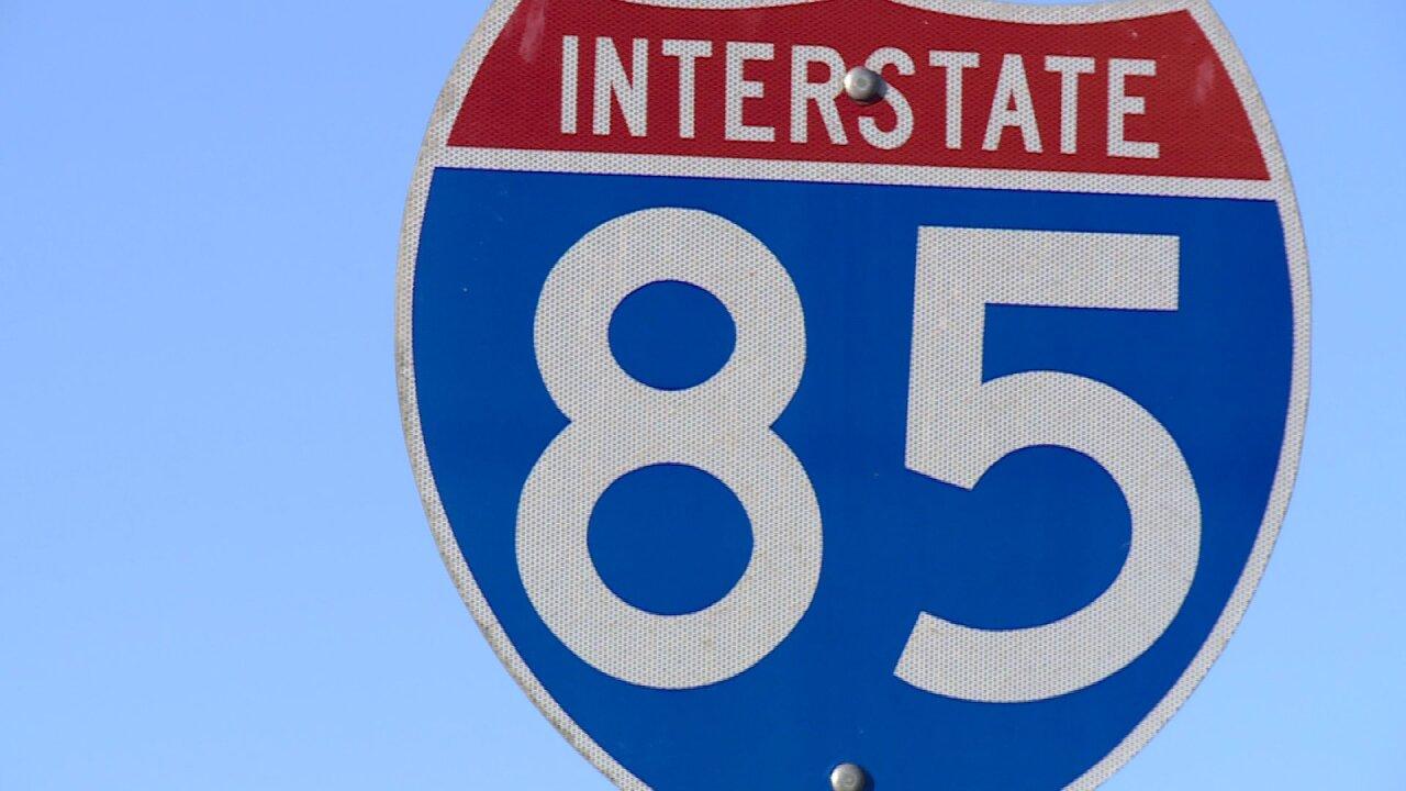 I-85 in DinwiddieCounty