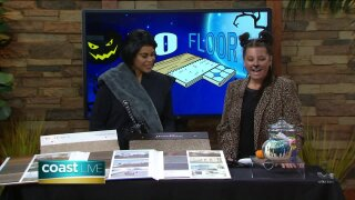 Halloween decor and holiday flooring tips on CoastLive