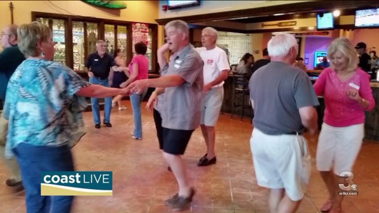 A local shag dance club takes the stage on Coast Live