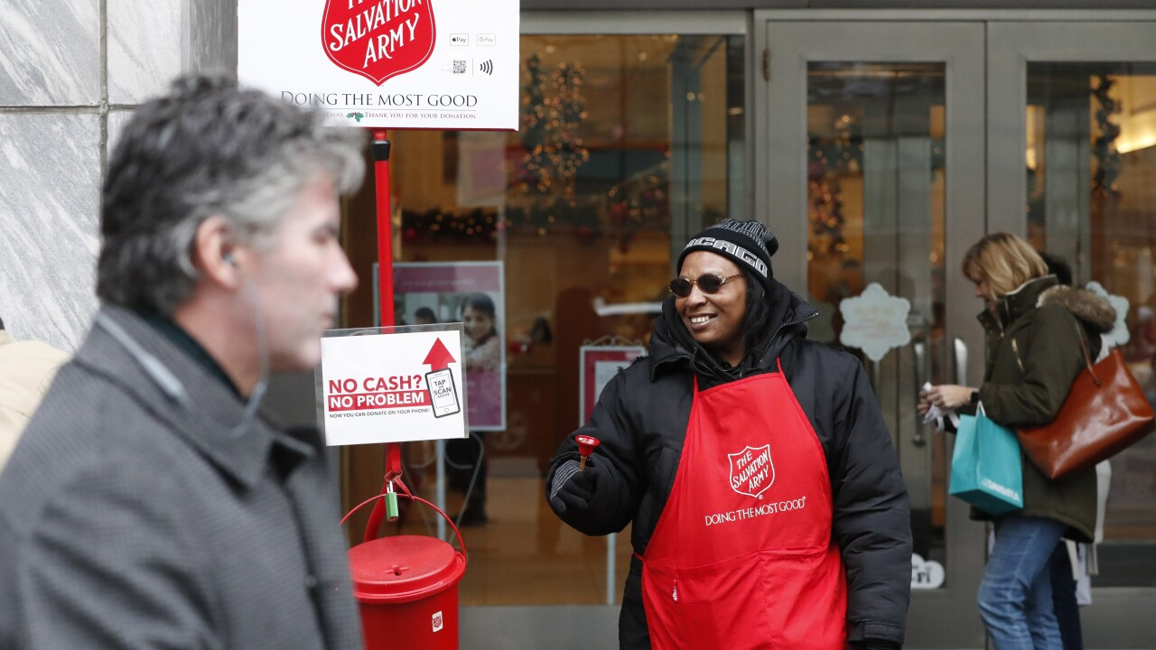 Salvation Army starting annual holiday fundraising early due to impact of COVID-19