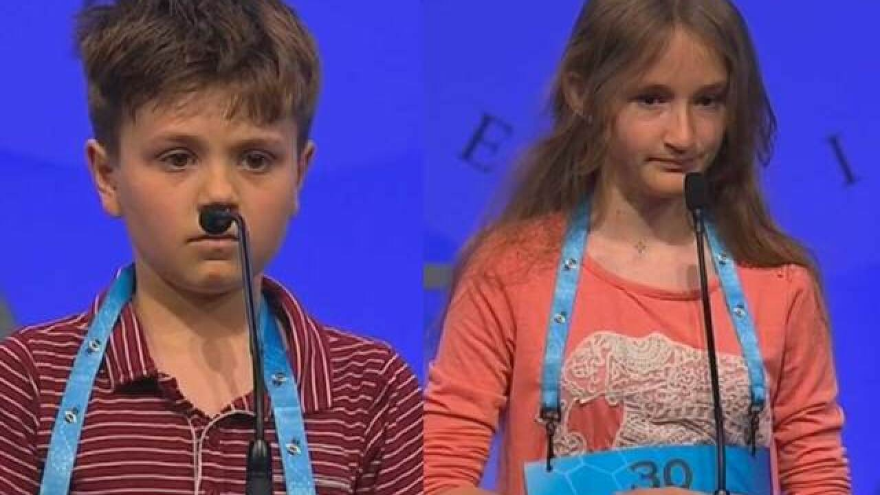 Colo. kids get 1st word at spelling bee finals