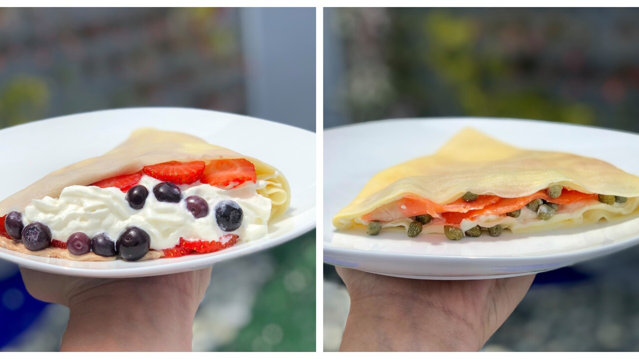 New Crepe Shop Is Now Open In Downtown St Pete