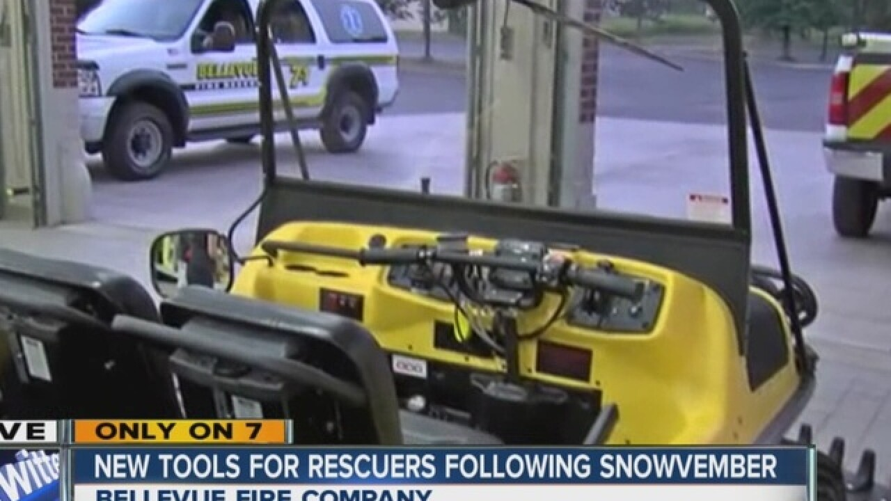 New tools for rescuers one year after Snowvember