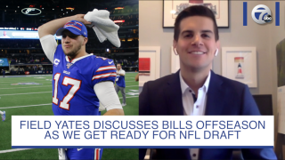 Watch: ESPN's Field Yates discusses Bills offseason & NFL Draft