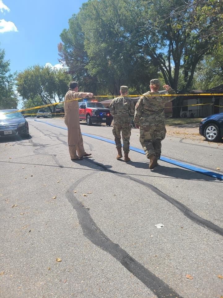 Once on the scene, local officials closed off the area to the public to begin their investigation.jpg