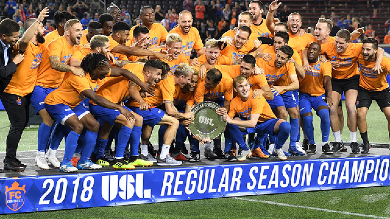 FC Cincy coach: 'Tonight is just the beginning'