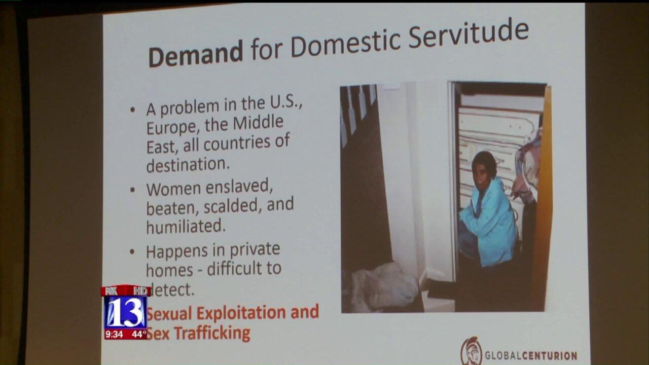 University of Utah hosts symposium on fighting humantrafficking
