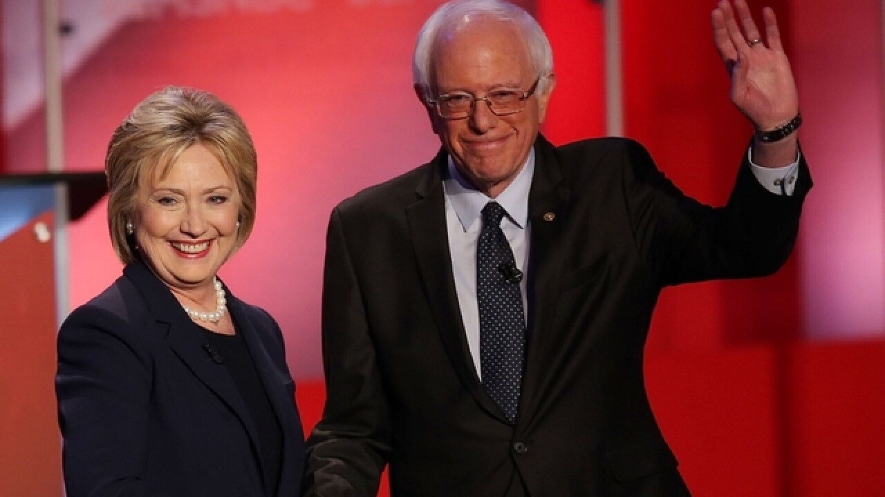 Bernie Sanders publicly endorses Hillary Clinton for President of the United States