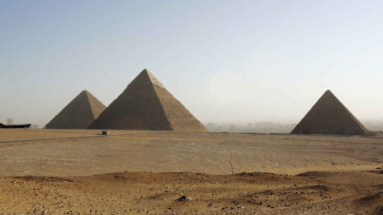 Two mysterious chambers found in Great Pyramid of Giza