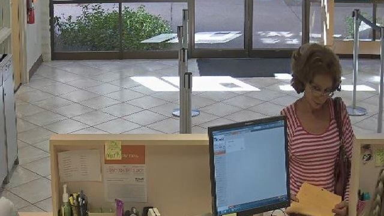 TPD searching for bank robbery suspects