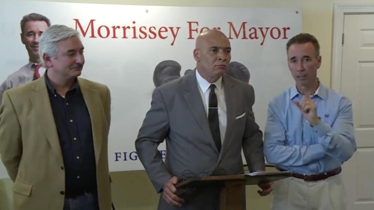 Morrissey to continue mayoral bid, demands newspaper retractstory