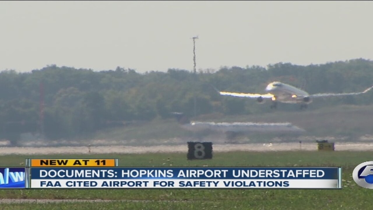 Many positions unfilled at CLE-Hopkins Airport