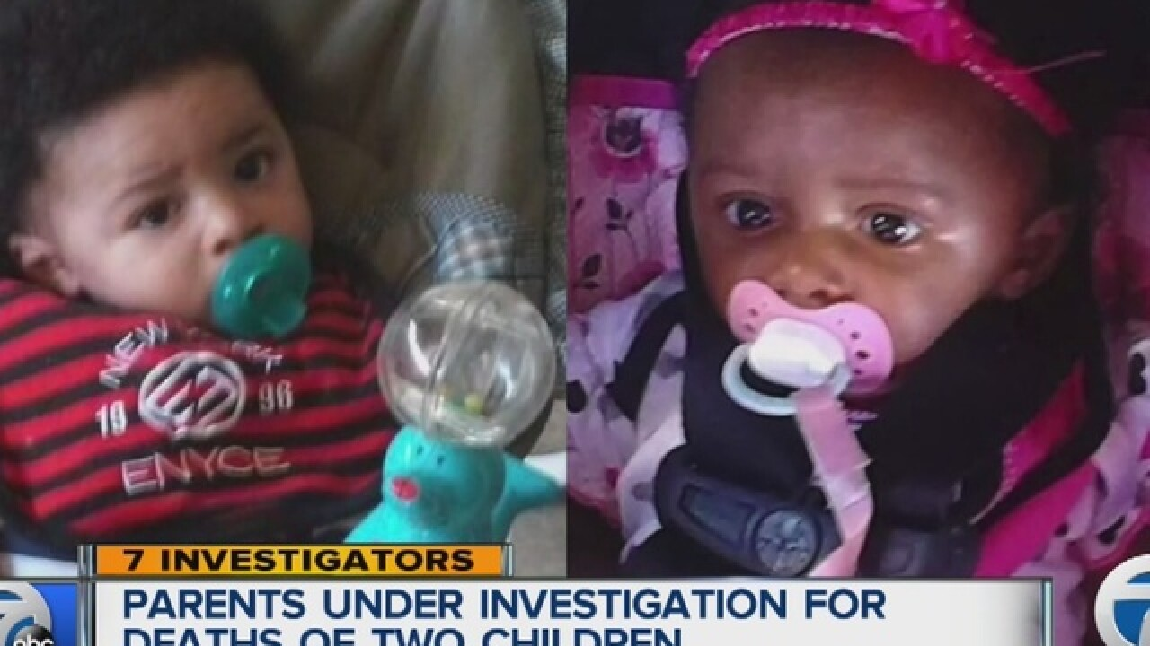Investigation into parents after two babies die