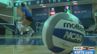 Creighton volleyball earns highest ranking in AVCA coaches poll in program history