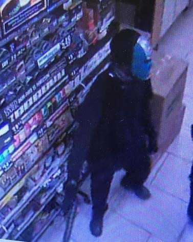 Surveillance image of suspect in North Fort Myers armed robbery on June 14, 2019.