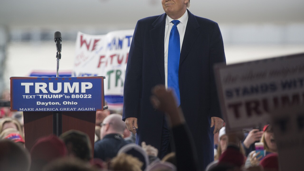 FACT CHECK: Trump wrongly links protester to ISIS