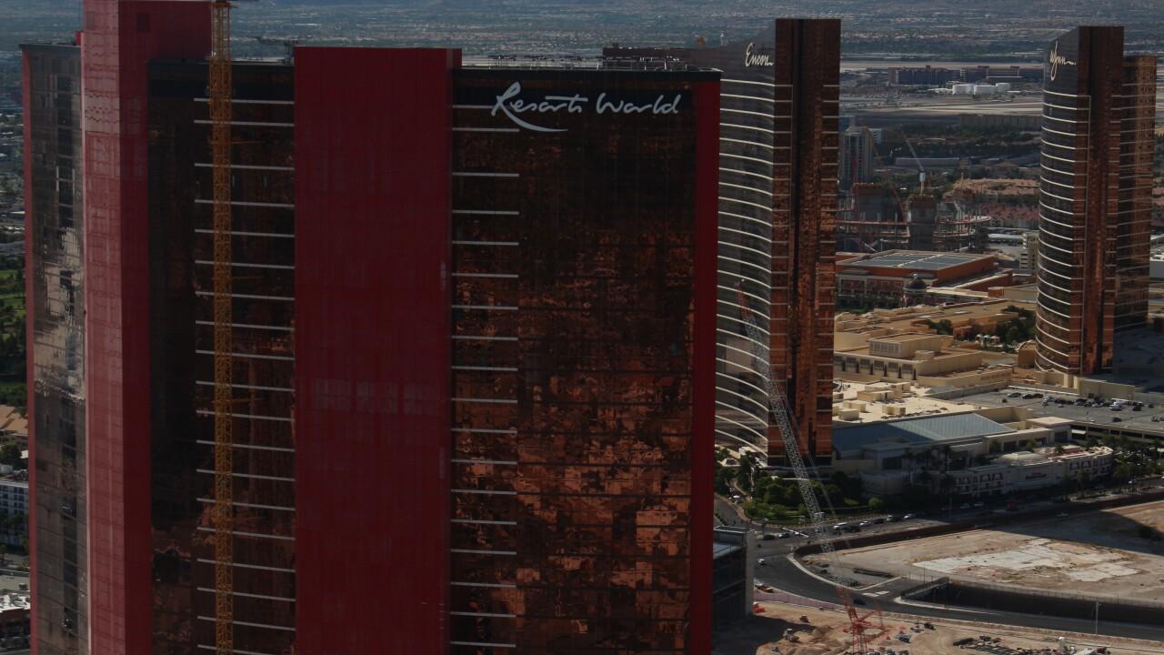 Resorts World Las Vegas construction