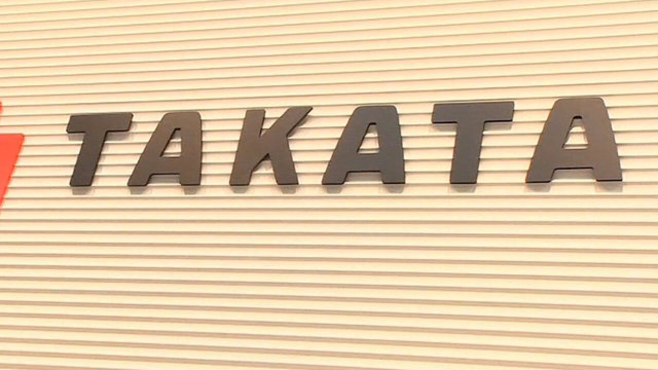 14 automakers add new vehicles to Takata air bag recall