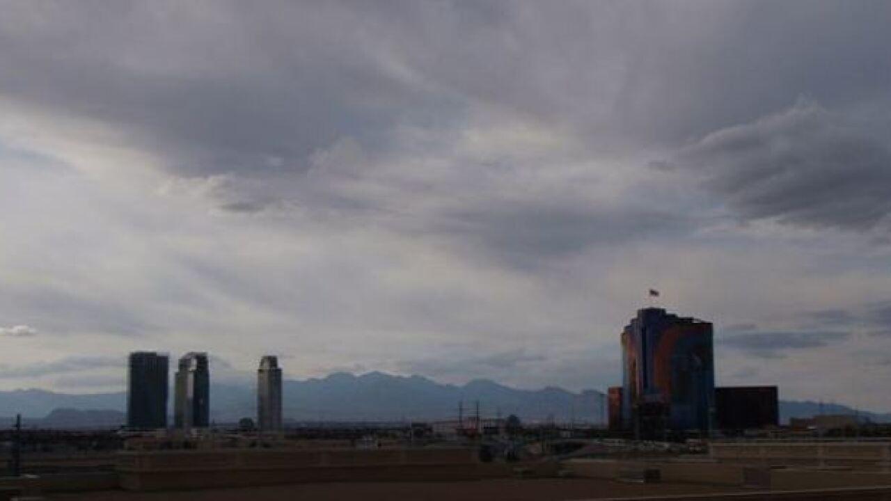 Eclipse Las Vegas >> Clouds Rain In Forecast For Las Vegas Eclipse