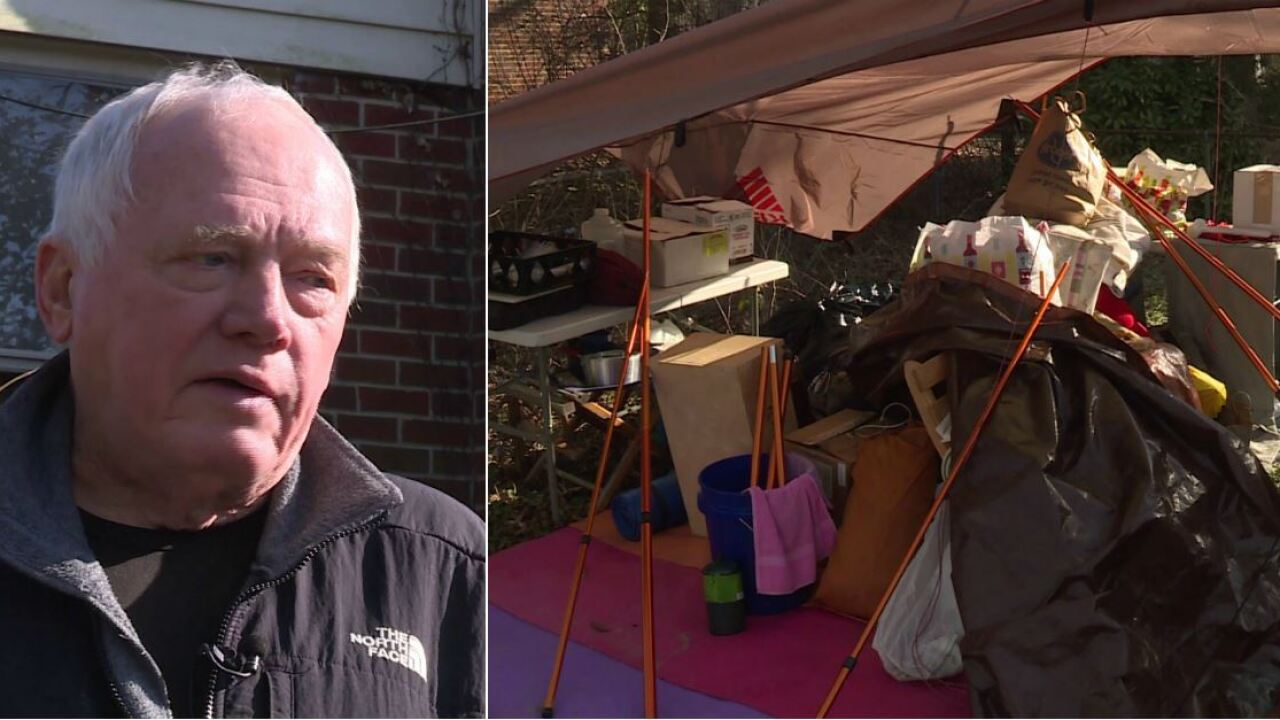 Henrico veteran – living in tent – needs your help fixing his fire damaged home