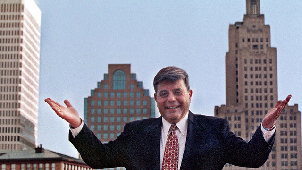 Ex-Providence Mayor 'Buddy' Cianci dies at 74