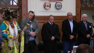 Veterans Treatment Court celebrates Native American graduates