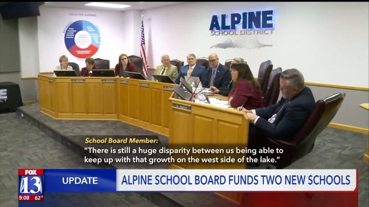 Alpine school board settles dilemma on where to build newschools