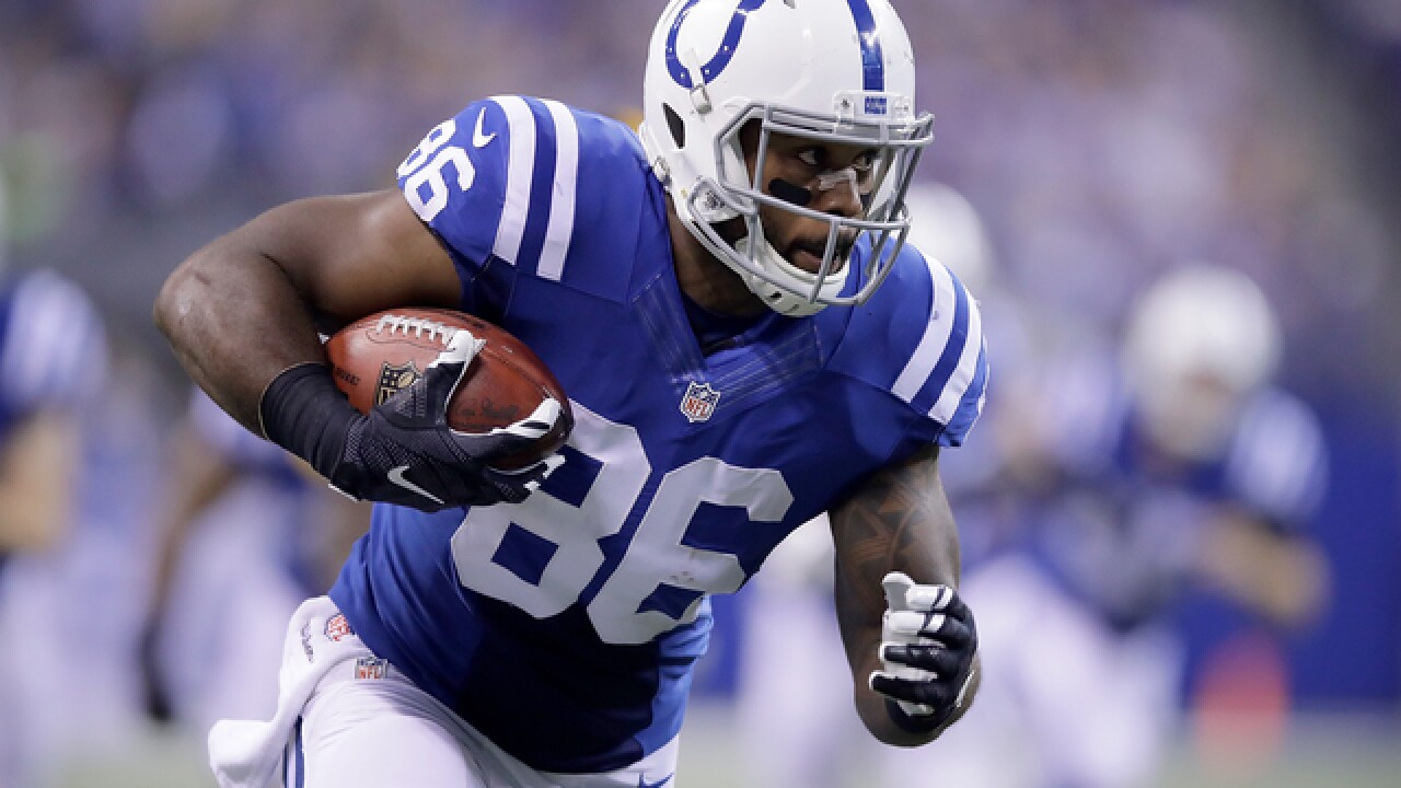 Indianapolis Colts waive Swoope, activate practice squad player