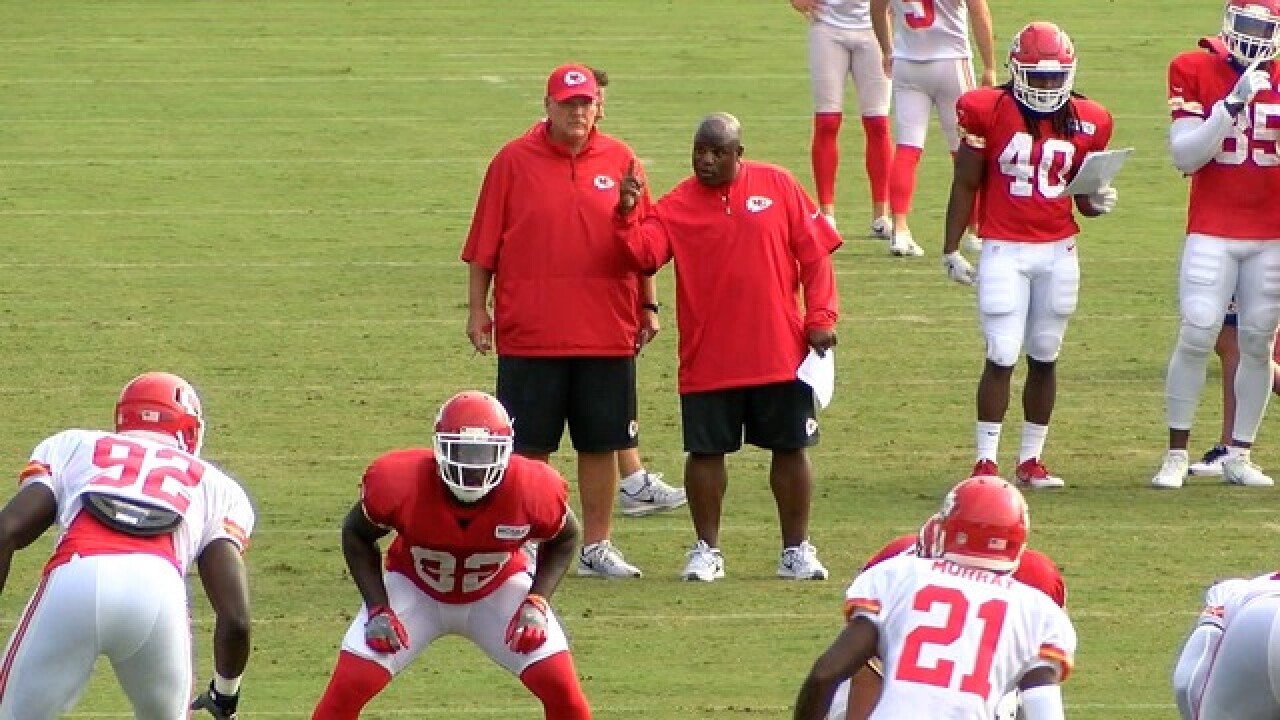 Competition has already started at Chiefs Camp
