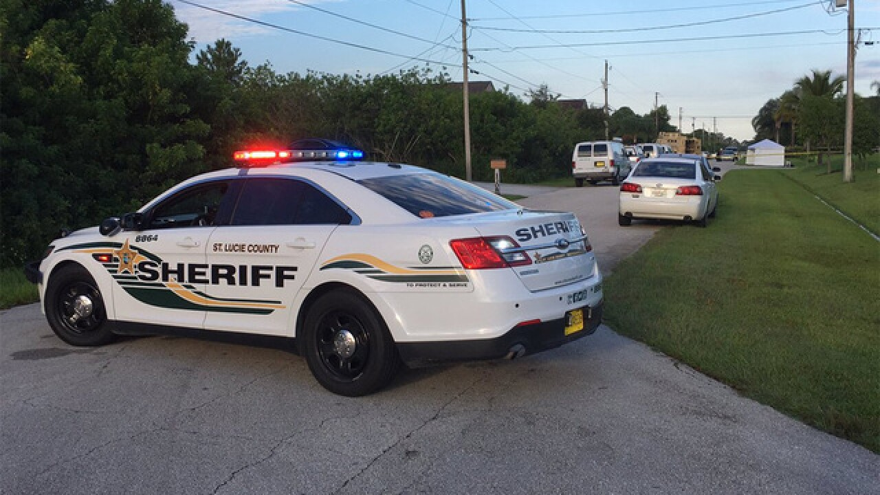 Man shot and killed after standoff in PSL