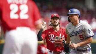 Dodgers Reds Baseball