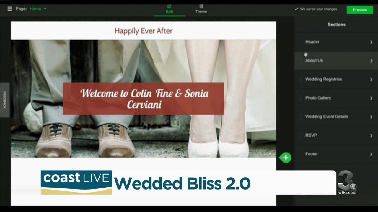 The newest ways to connect for your wedding day on Coast Live