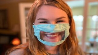 This College Student Designed Masks For People Who Are Deaf Or Hard Of Hearing