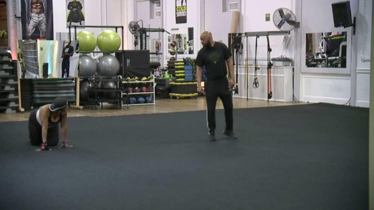 voltage training and fitness