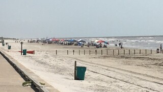 Vehicle Beach Closures Not Stopping Beach Goers From Enjoying The Waves