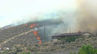 Nevada fire