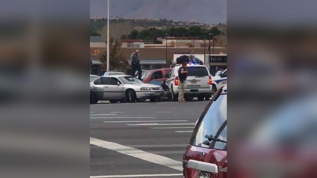 Police chase on Austin Bluffs