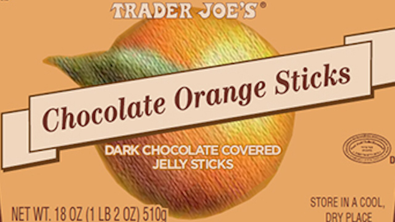 Trader Joe's recalls chocolate orange sticks