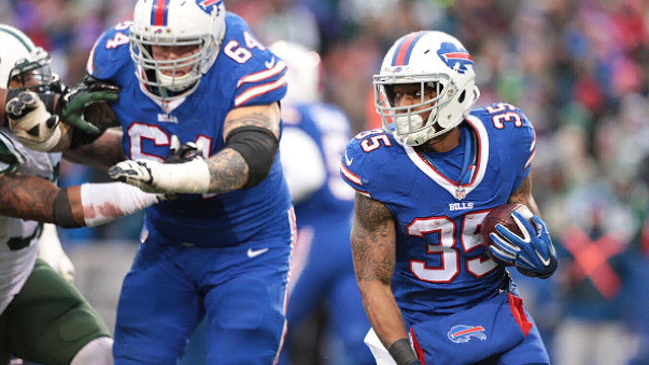 Bills' OL Richie Incognito retiring