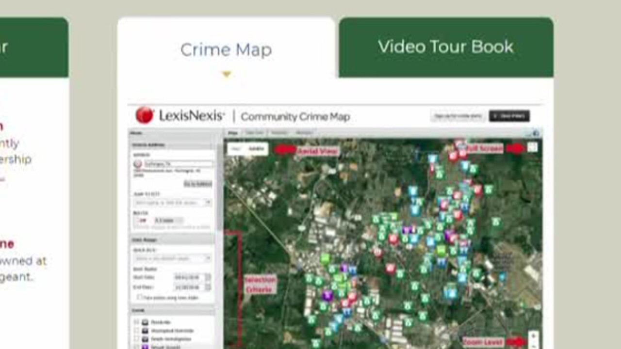 La Vergne PD use new online tool to track crime