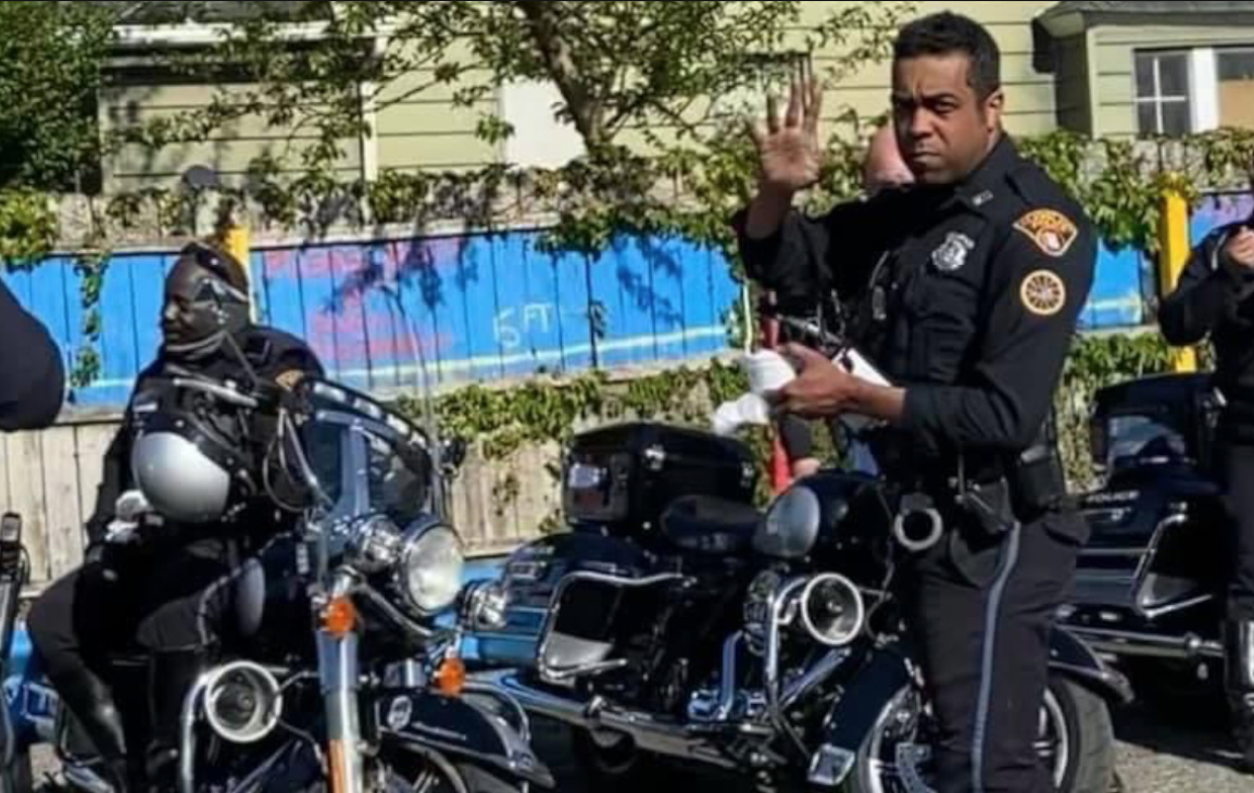 Cleveland Police crackdown on illegal ATV and dirt bike riders on Fleet Avenue in July 2021